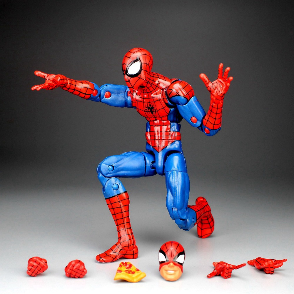 Pizza Spiderman Marvel Legends Infinite Series Homecoming Action Figure Toy Gift