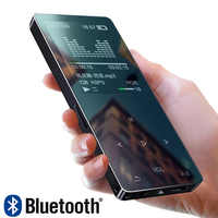 Metal Bluetooth 4.1 new MP3 player Bulit-in Speaker with FM radio/recording E-book Portable Slim Lossless Sound walkman
