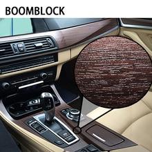 BOOMBLOCK 30*100 cm Car Styling Inter Adesivi Freddo Per Mercedes W204 W210 AMG Benz Bmw E36 E90 E60 fiat 500 Volvo S80