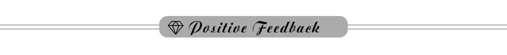 7 Positive Feedback
