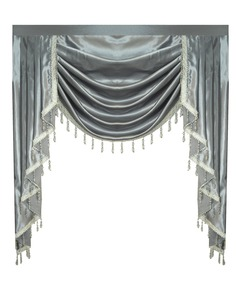 Image 2 - Cortina valance swag lambexigin para sala de jantar, quarto, janela de luxo, estilo royal europeu