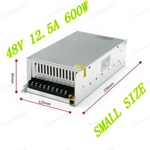 600W 48V 12.5A  Single Output Adjustable Switching power supply unit for LED Strip light Universal AC-DC Converter