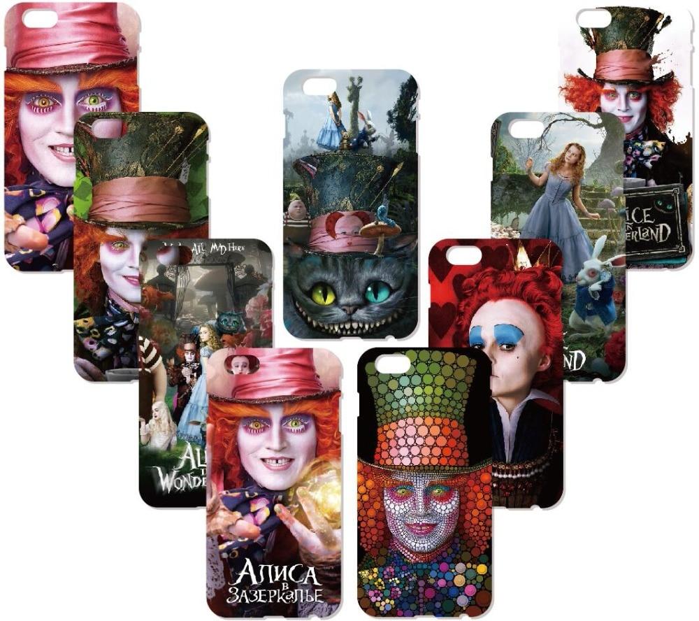 Alice In Wonderland Mad Hatter Case For Samsung Galaxy S9 Plus E5 E7 i9082 S5 S6 S7 Edge Note 3 4 5 Phone Cover Coque Capa Funda