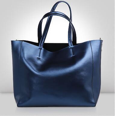 High quality 100% Genuine Leather Women Bags women Fashion handbag quality guarantee female High capacity shoulder bag wholesale