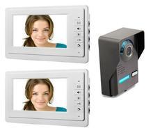 Yobang Security 7″ Wired Video Intercom Doorbell System Video Intercom Doorbell System For Villa Interphone Doorphone