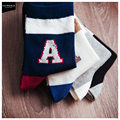free shipping Cheap 2015 new cotton socks vibrant color socks 18002088 A letter Socks