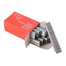 Трехцелевой пистолет для ногтей u-образный гвоздь u-образный кривизны для ногтей фиксированная проволочная вязка книга серебро Цвет Прочный