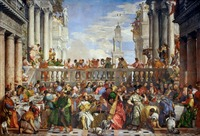 Wholesale painting Paolo Veronese Jesus The Wedding at Cana the Magnificent Sultan of the Ottoman Empire 1562 print painting