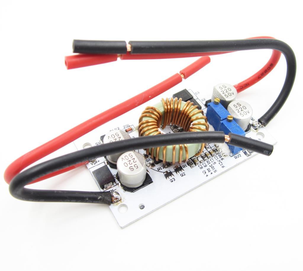 2 PCS DC DC boost converter Courant Constant Mobile alimentation 250 W 10A LED Pilote