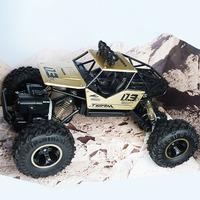 4WD Electric RC Car Rock Crawler 1:16 Remote Control Toy Cars Off road Toy Vehicle Child birthday present