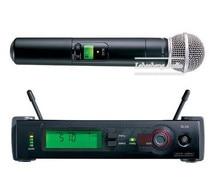 UHF de Micrófono Inalámbrico Con Receptor de Diversidad SLX24 beta 58 Pro de Frecuencia Automática