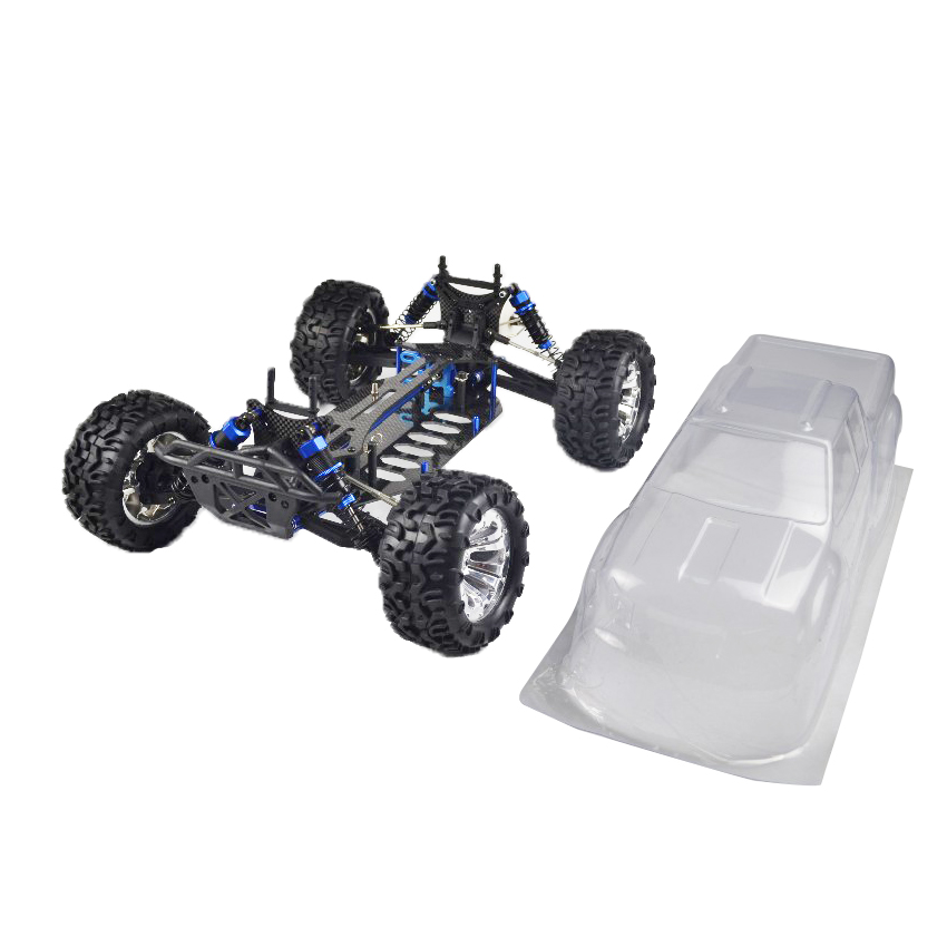 1/10 Scale 4WD ROLLER KIT RC CAR, KIT RC CAR FOR SALE-in