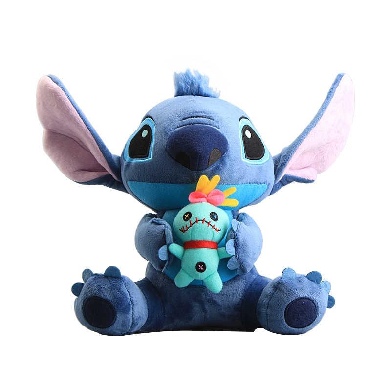 Плюшевые игрушки дисней, волшебные Лило и Стич, мягкие игрушки с животными, ПП хлопок, каваи, кукла Scrump, подарок на день рождения, Рождество, детская игрушка для девочек