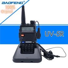 Baofeng UV 5R Walkie Talkie Professionale CB Stazione Radio Baofeng Ricetrasmettitore FM 5W VHF UHF Portatile UV 5R Caccia Prosciutto radio