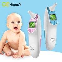 Bebé Termómetro Electrónico Termometr Niños Oído de La Frente Del Cuerpo Infrarrojo Digital Sin contacto del Termómetro para el Cuidado Del Bebé Fiebre Termometr