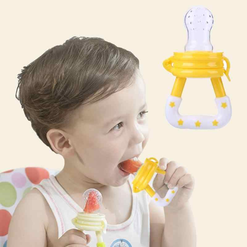 Fresh Fruit Vegetable Food Milk Safe Silicone Nibbler Toddler Baby Pacifier Newborn Infant Feeding Fake Nipple Baby Feed props