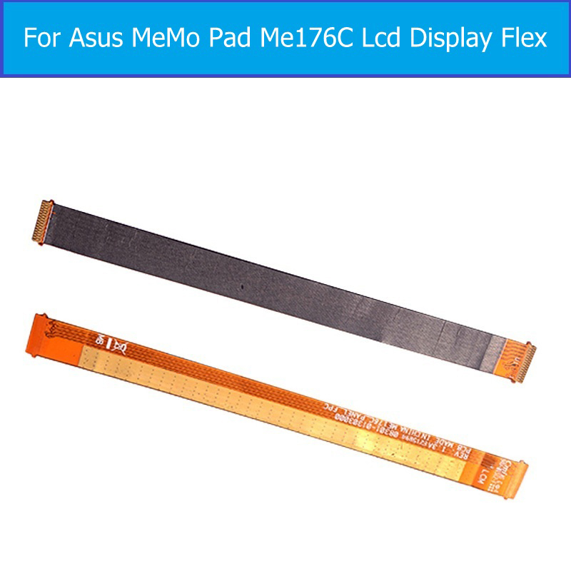 100% Genuine LCD Panel Flex Cable For Asus Memo Pad 7 K013 Me176C LCD Display Flex Cable For Asus me176C PCB LCM_FPC Flex cable