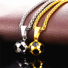 World Cup Mania necklace football Pendant With Chain Soccer fans gift