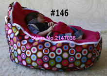 Discojelly pink bubbles balls super comfortable bean bag chair wholesale baby crib bedding set