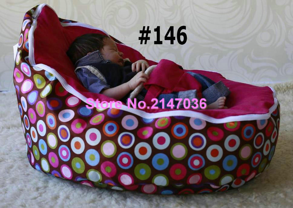 Discojelly Pink Bubbles Balls Super Comfortable Bean Bag Chair Wholesale Baby Crib Bedding SetChina