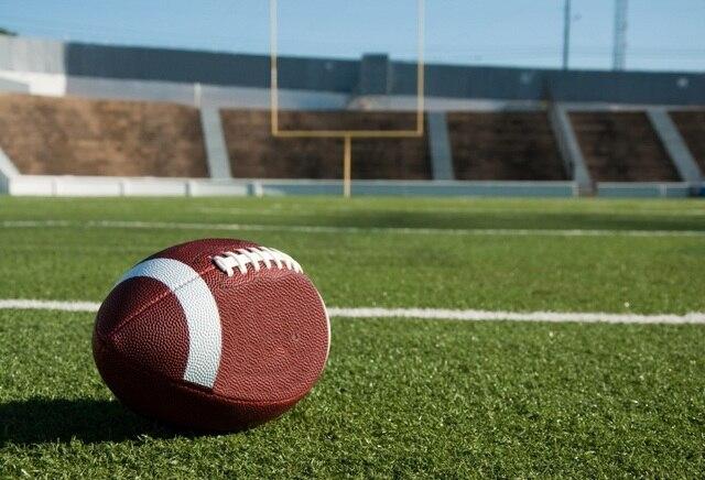 Laeacco American Football Field Scenic Photography: Laeacco American Football Field Stadium Scenery