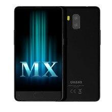 5,2 Zoll Lünette-weniger Smartphone UHANS MX MT6580 Quad Core Vorderes Berühren ID 2 GB + 16 GB 8MP 3000 mAh Android 7.0 Handy