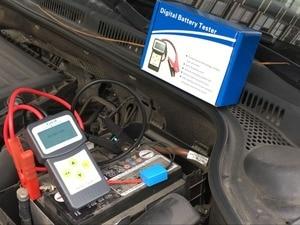 Image 5 - Lancol מקצועי מיקרו 200 אבחון כלי רכב בודק סוללה רכב Analyzer 12v cca סוללה מערכת Tester USB להדפסה