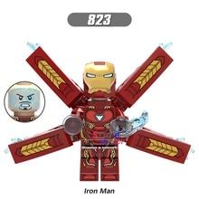 Single Marvel Avengers Iron Man Infinity War Armor collectable figure Mark50 Mark 50 font b building