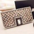 Роскоши алмаза шику кристалл флип кожаный коке чехол для Samsung Galaxy S5 S6 S6 край S4 A3 A5 A7 A8 S3 J1 J2 J3 J5 J7 E5 E7 A9