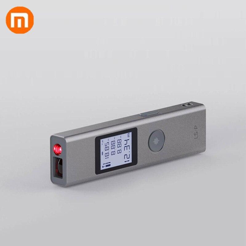 Xiaomi Mijia Duka 40m LS-P Carregador USB Portátil de Medição de Alta Precisão Digital de Telêmetro A Laser Telêmetro Handheld