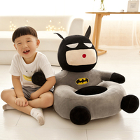 50cmx50cm Plush Sofa Stuffed Seat Kids Stuffed Cartoon Children Baby Chair Soft Coussin Enfant Sleeping Bed Children gift50T0420