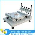 Alta Precisión Manual PCB Pantalla De Prensa Precisa Stencil Máquina De Impresión de Pasta de Soldadura Soldadura + Squeegees Envío Gratis