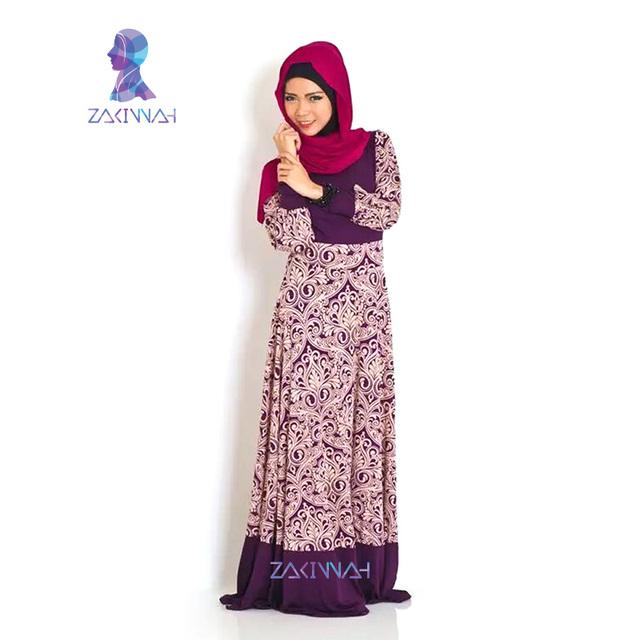 Islamic dress muslim abaya plus size long maxi dresses  tunique hijab high quality abaya
