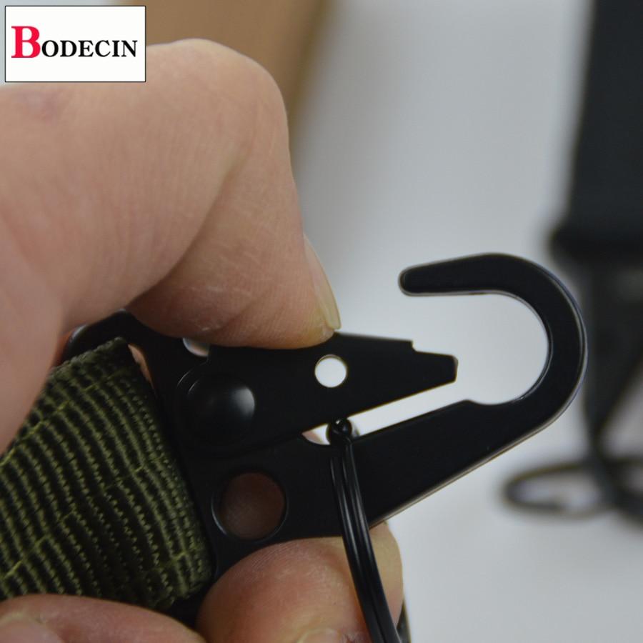 Outdoor Tools EDC Gear Camping Tactical Nylon Belt Clip Keychain Snap Hooks Bushcraft Molle Webbing Buckle Carabiner For Keys (5)