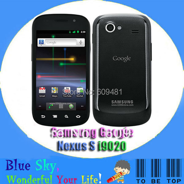 Samsung Google Nexus S i9020 original 5MP 16GB internal 512MB RAM GPS WIFI Android phones