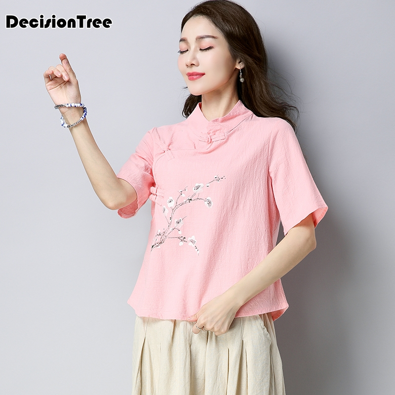 2019 traditional women tang ancient chinese costume beautiful dance hanfu costume princess dynasty chinese hanfu tops in Tops from Novelty Special Use