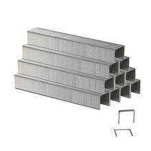 1000 шт 10 мм и 6 мм скобы Тип 53 для электрического степлера MESG45A и ручной степлер