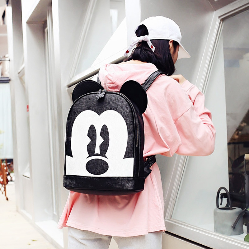 School Backpacks For Boys Cute Kid Toddler School Bags Minnie Mickey Backpack Kindergarten Schoolbag Cartoon Mochila Infantil 2017 new children school backpacks small 3d animal monkey backpack baby toddler backpack kids kindergarten schoolbag for boys