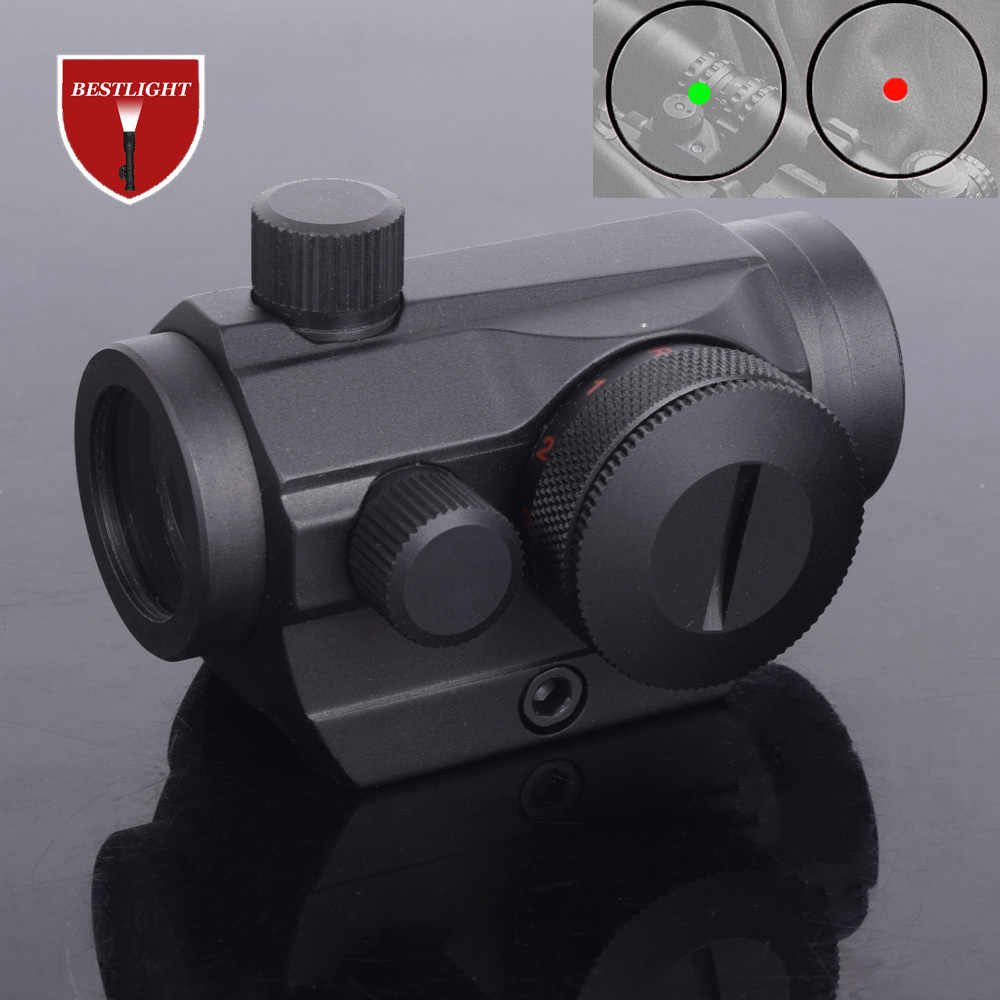 "ציד רובה סקופס Red Dot Airsoft טקטי הולוגרפית אופטי מכוון Sight 20 מ""מ רכבת Chasse Caza לונטה Para רובה"