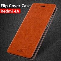 Xiaomi Redmi 4a Case Flip Ultra Thin Metal Mofi Cover For Xiaomi Redmi 4a Case PU