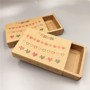 Image 2 - 30pcs Paper Drawer Type Package Box Wedding Party Favor Wrapping Paper Boxes For Candy/Handiraft/Cookie Gift Boxes