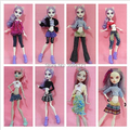 5sets/lot clothes dress for Genuine Original Monster toys High dolls, doll clothing doll's dress for monster inc doll