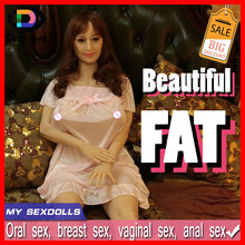 160cm FAT sex dolls,Lifelike real silicone mini sex doll with big chest big breast oral/vagina sexy toys for man