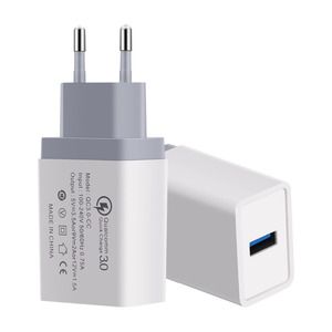 Fast Charger QC3.0 18W USB Power Home Wall Quick Charging Adapter For iPhone X 8 4 5 6 7 Plus Xiaomi Samsung Mobile Phone