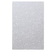 Yibuy 3ply Blank White Pearloid 29cm x 43cm Guitar scratch plate sheets