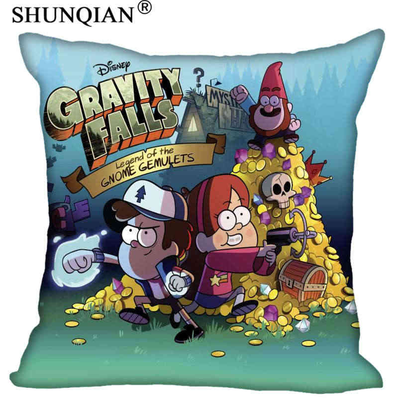 New Arrival Gravity Falls Square Pillowcases zipper 35x35cm40x40cm Custom Pillow Case More Size Custom your image