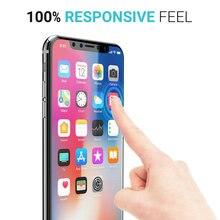 2.5D 9H protector de pantalla de vidrio templado X 8 para iPhone 7 plus, 6s plus Sam s8 s7 borde s6 Nota 5 200 Uds con paquete de venta al por menor