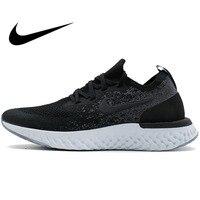 Оригинальный Новое поступление 2018 NIKE EPIC REACT FLYKNIT для женщин кроссовки сетки дышащая стабильность спортивные кроссовки для женская обувь