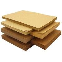 50pcs Lot A4 Size 21 29 7cm Kraft Paper 250gsm Card Paper DIY Box Gift Packing