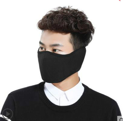 Men and women mask wind and mask winter warm winter with thick mouth cover to keep warm and comfortable hot selling magic women s men s winter warm black full face cover three holes mask beanie hat cap wholesale cool accessory